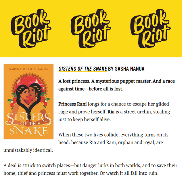 Book Riot's Top Spring Reads!