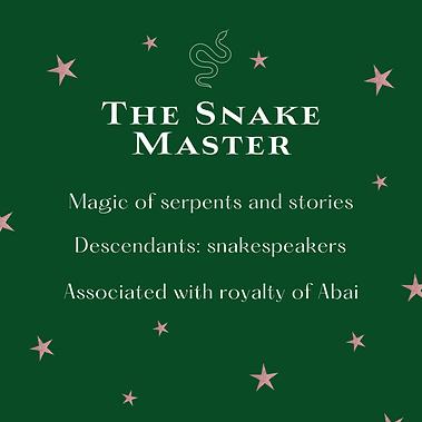 The Snake Master