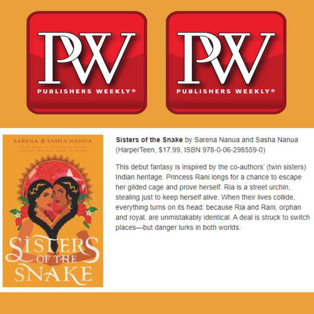 Featured in Publishers Weekly Children's
