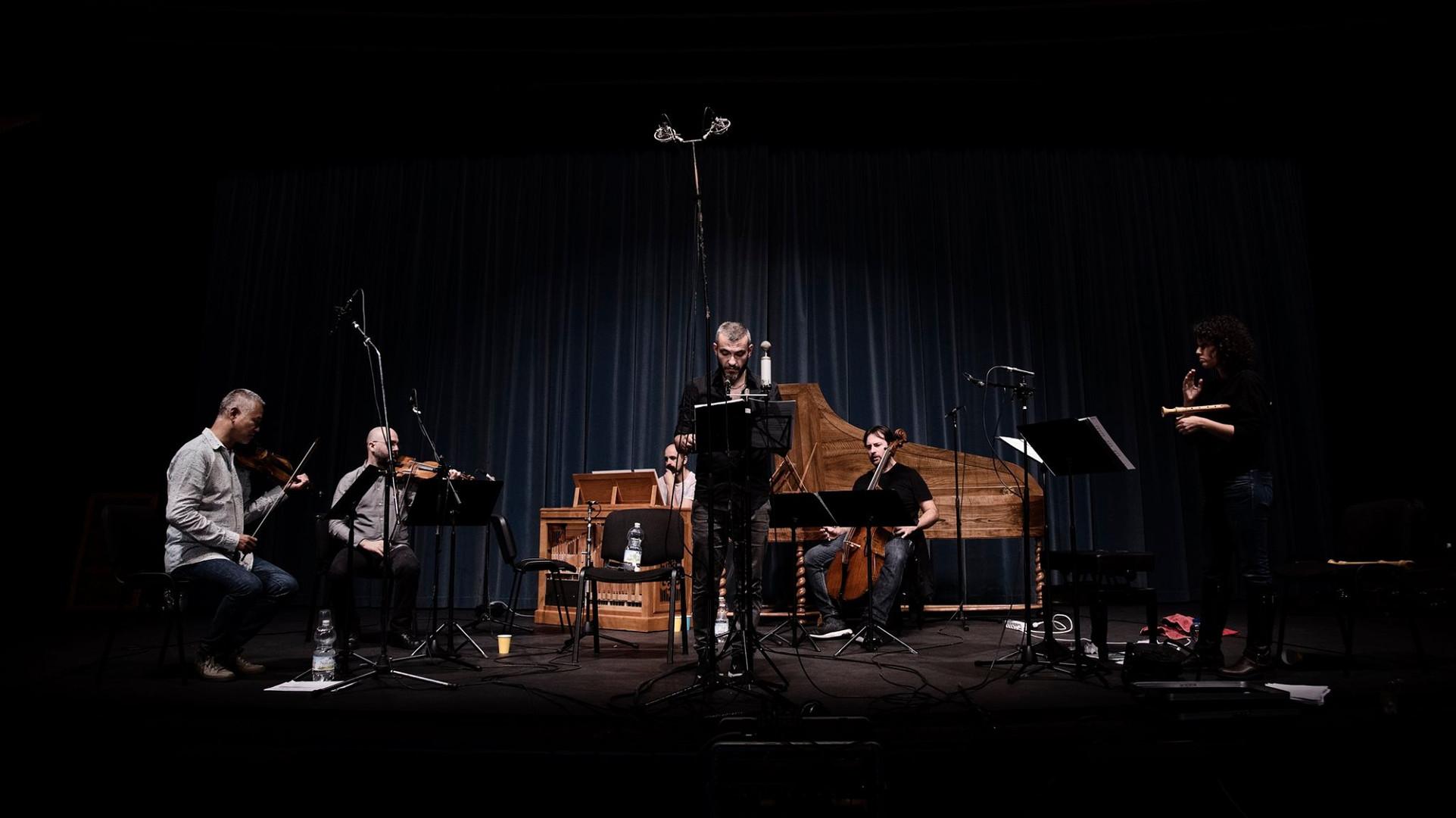 Recording of the CD 'Quella Pace Gradita' | © La Ritirata - Noah Shaye