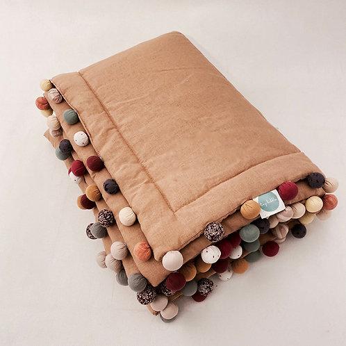 Pled linen cinnamon