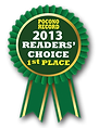 2013 Poconos Record, Readers' Choice 1st place