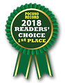 2018 Poconos Record, Readers' Choice 1st place
