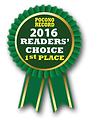 2016 Poconos Record, Readers' Choice 1st place