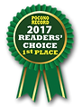 2017 Poconos Record, Readers' Choice 1st place