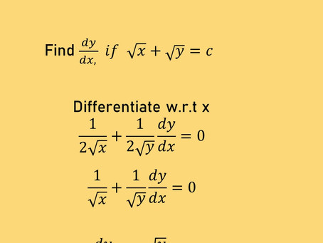 IMPLICIT FUNCTIONS AND THEIR DERIVATIVES