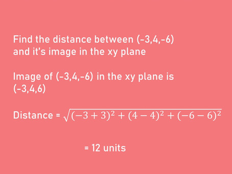 BASIC TIPS ON 3 DIMENSIONAL GEOMETRY