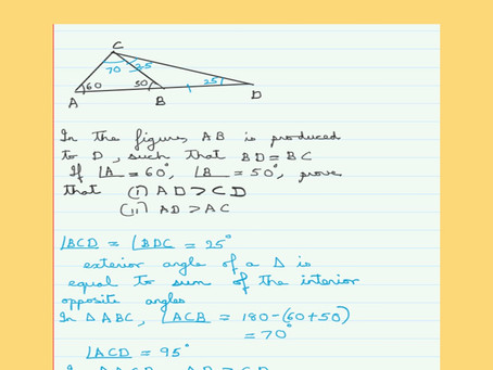 Inequalities in Triangles-Problem 2
