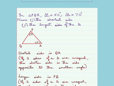 Triangle Inequalities-Problem 1