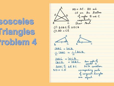 Isosceles Triangles-Problem 4