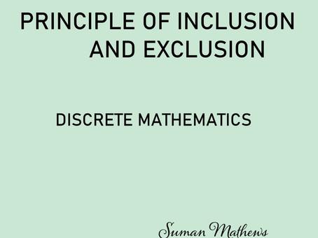 Inclusion and Exclusion Principle