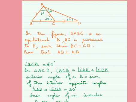 Isosceles Triangles-Problem 9