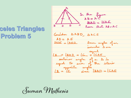 Isosceles Triangles-Problem 5