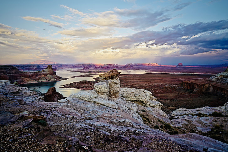 Alstrom Point Overlooking Lake Powell