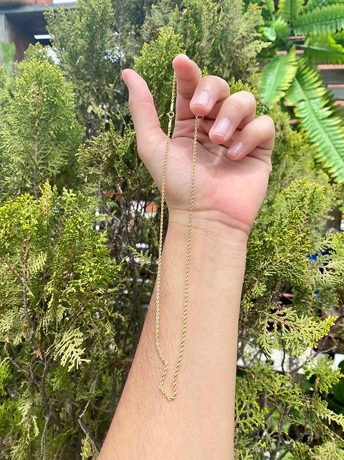 Cadena lazo 1.4 gramos 45 cms