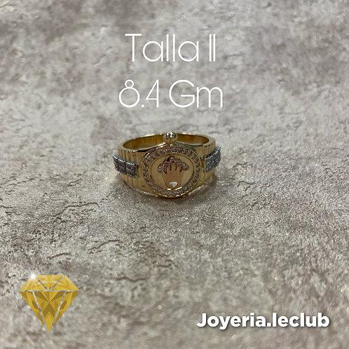 Anillo  corona 8.4 Gm