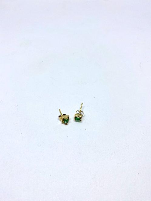 Topos esmeralda par 0.9 gramos - 3