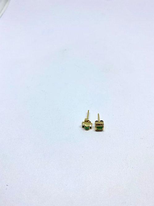 Topos esmeralda par 0.9 gramos - 4