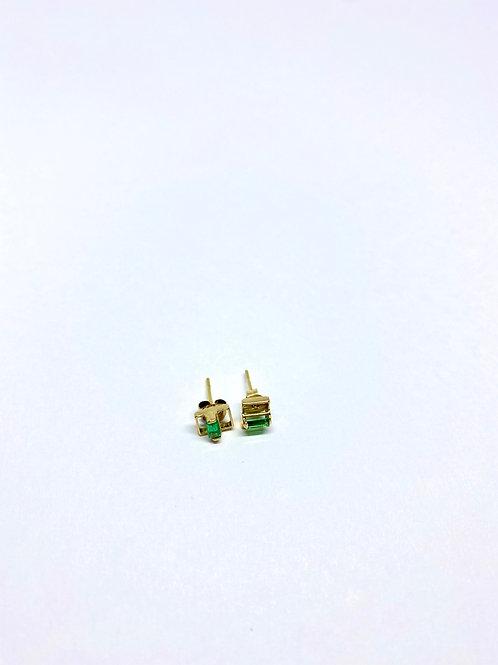 Topos esmeralda par 0.9 gramos - 6