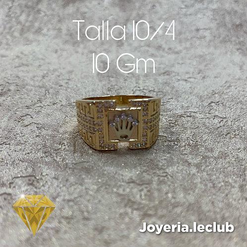 Anillo corona  10 Gm