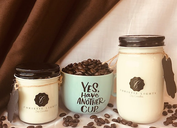Fresh Brewed Coffee Scented Candle