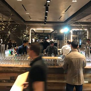 Bar tops for 25th Aniversery Starwood at 1Hotel Brooklyn Bridge