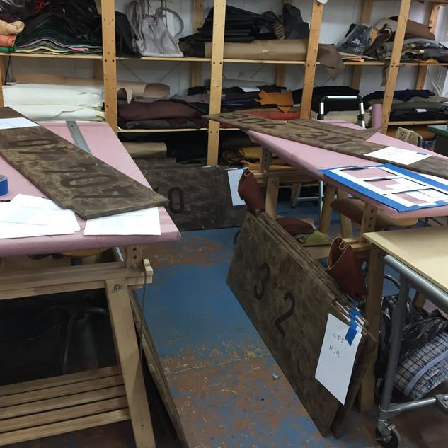 Branding custom made brass numbers on the matt for 1hotel brooklyn bridge