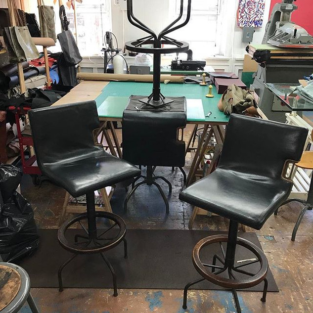 Created Bar stools, total resturaion