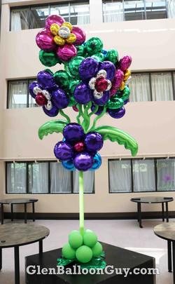 Giant Foil Flower Arrangement