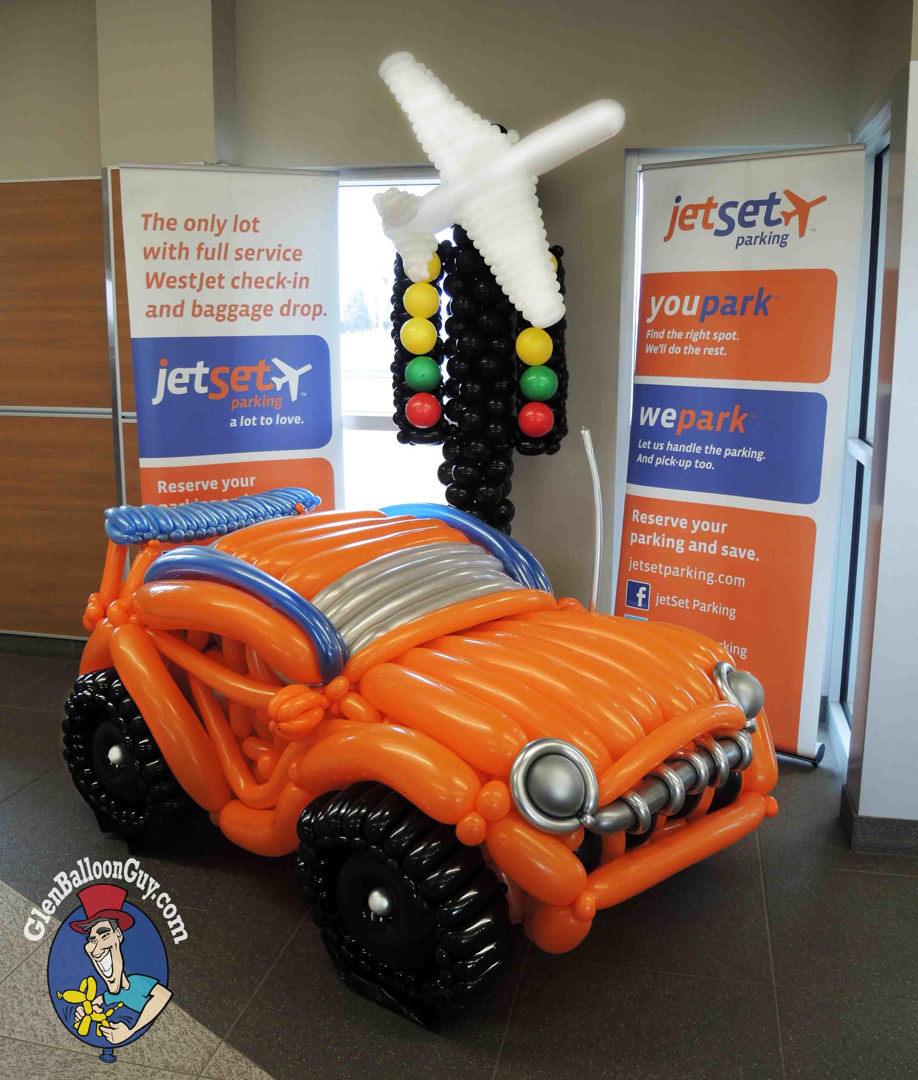 Balloon Sculpture - Sports Car