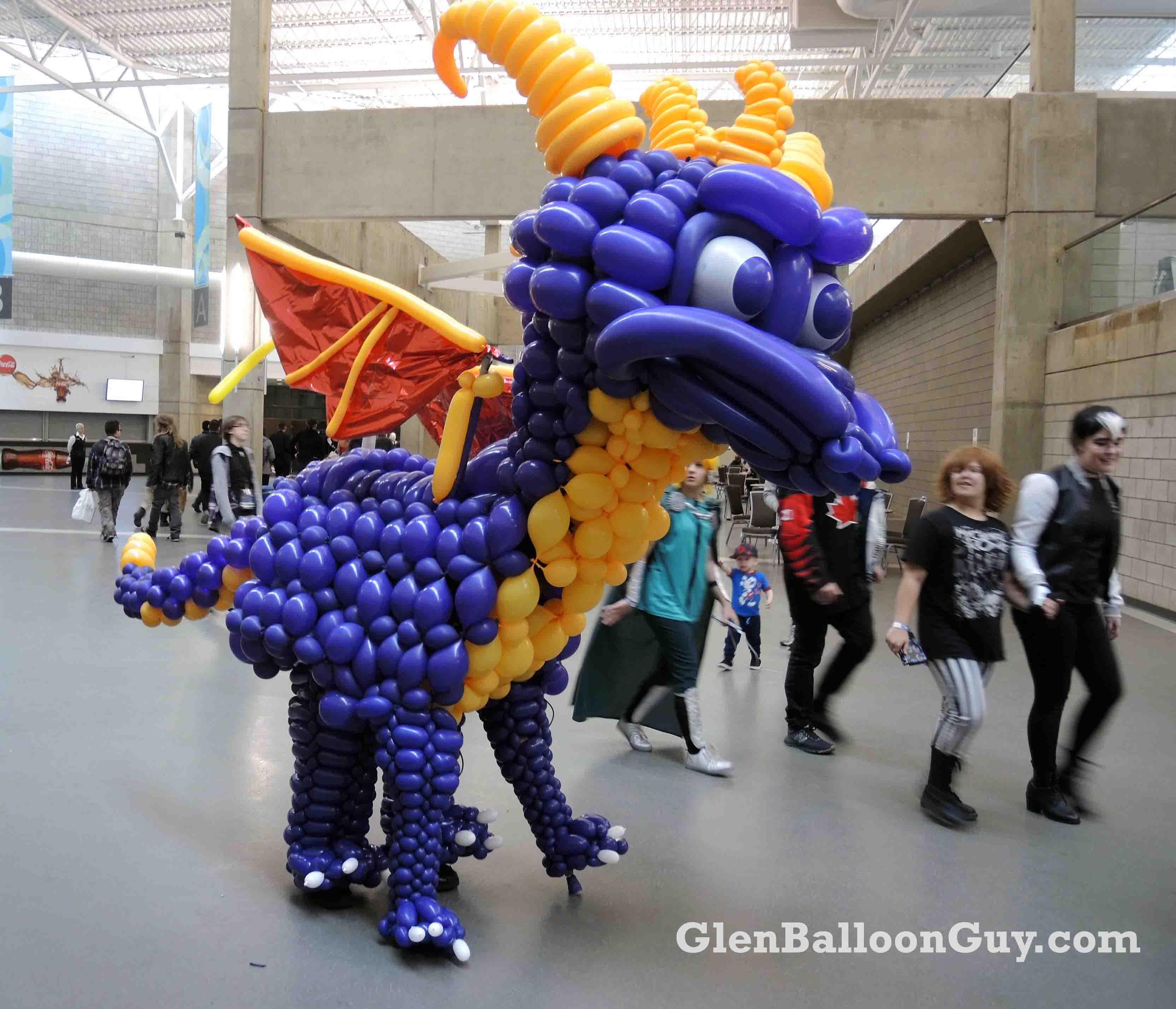 Spyro The Dragon Balloon Costume