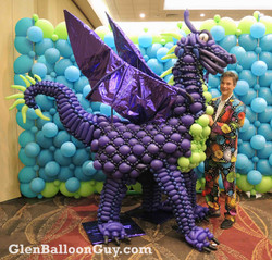 Pokey Purple Dragon Balloon Costume