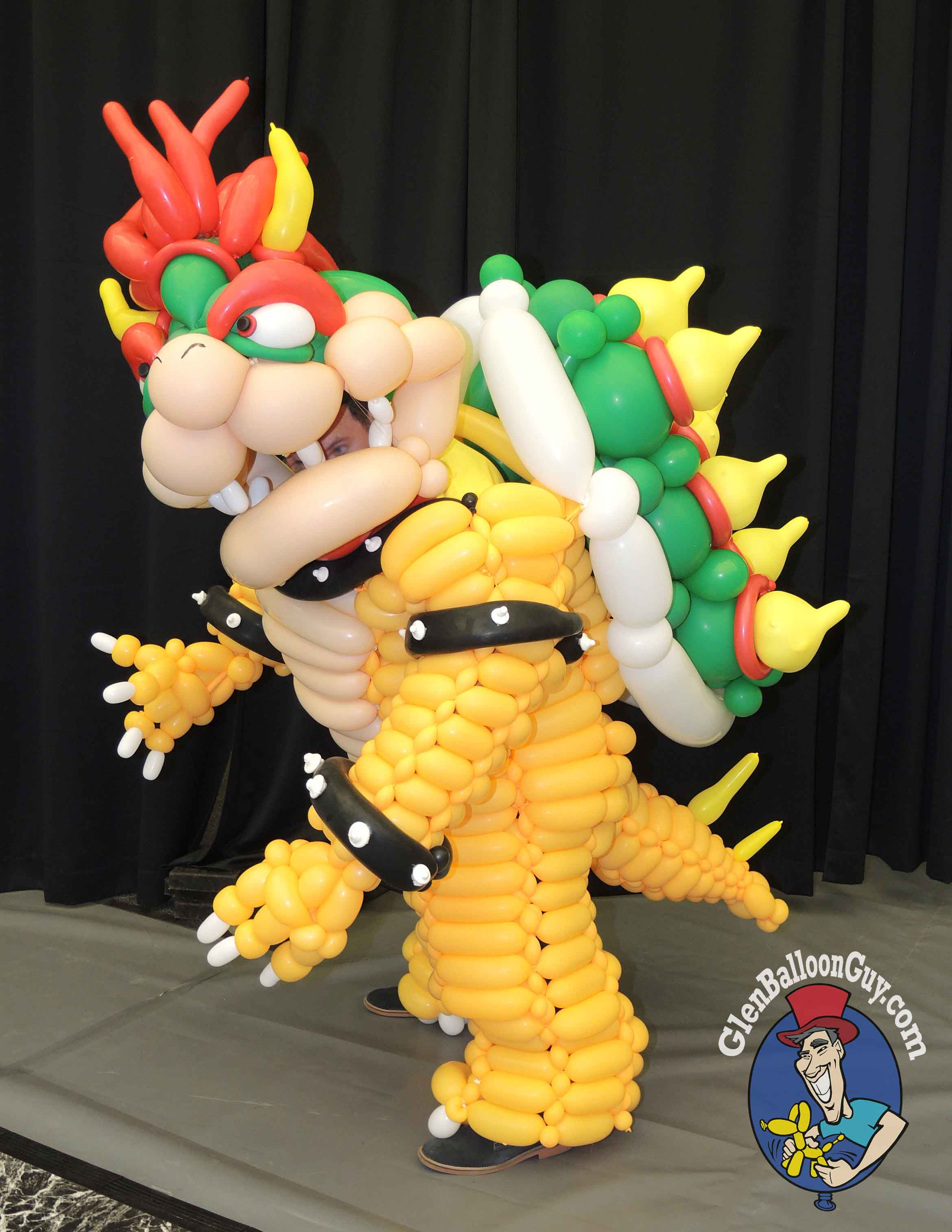 Bowser Balloon Costume