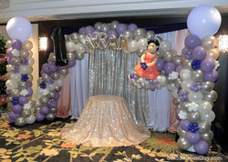 First Birthday Balloon Arch