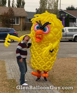 Monster Tweety Balloon Costume