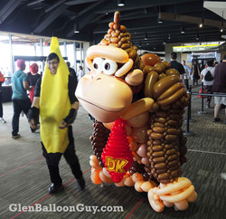 Donkey Kong Balloon Costume