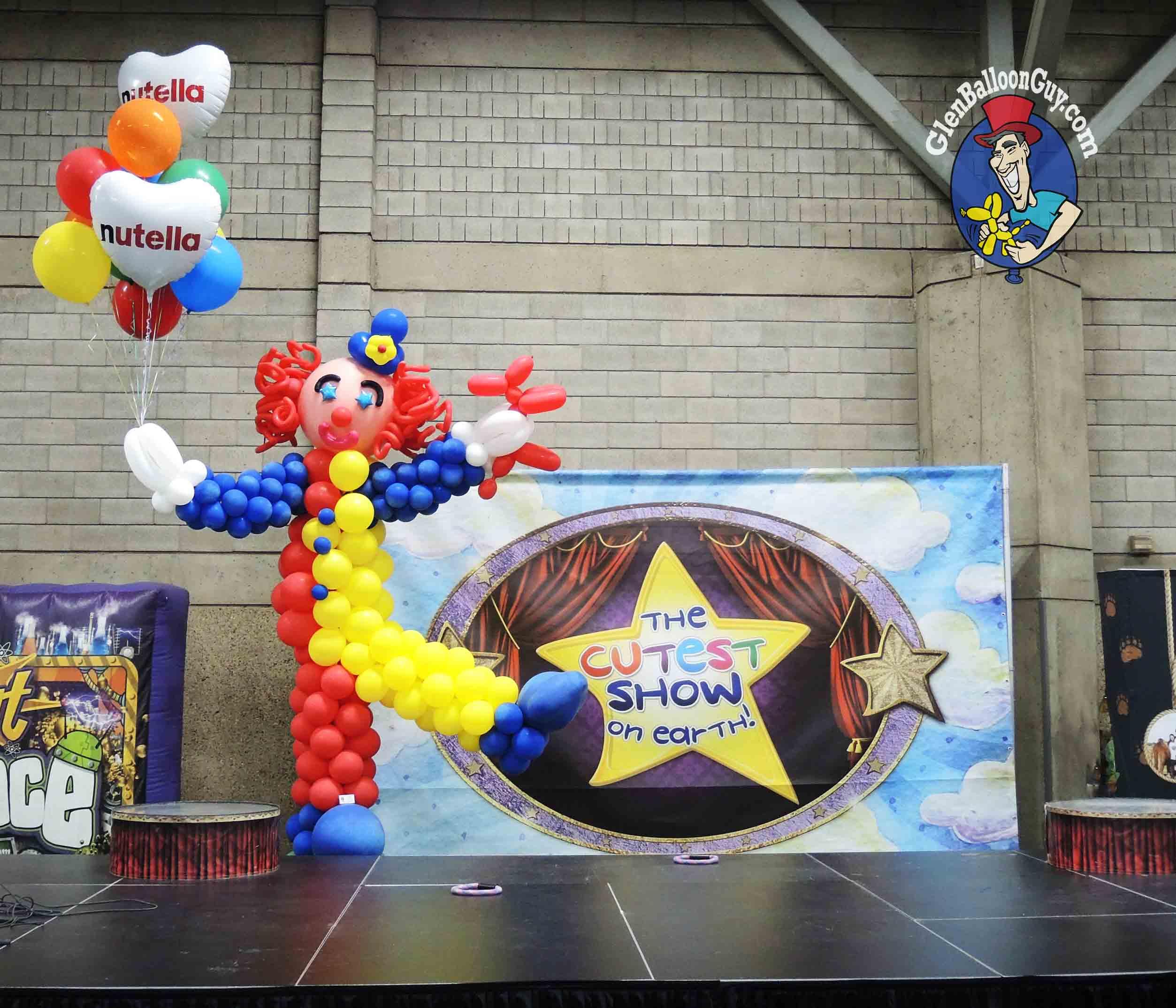 Balloon Clown Sculpture