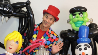 CBC News Edmonton Article – Glen the Balloon Guy makes something 'out of pretty much nothing&#39