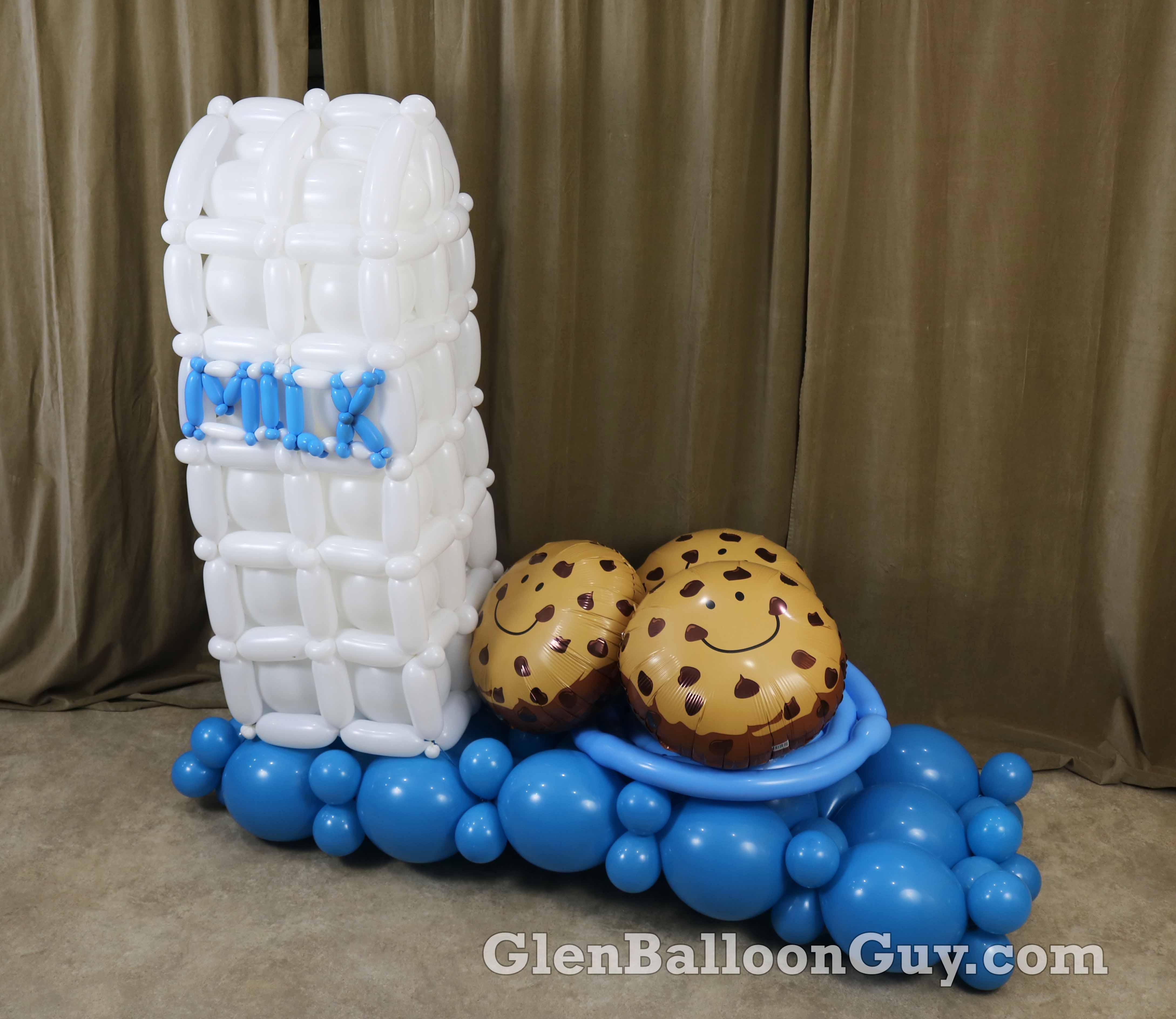 Milk and Cookies Sculpture