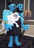 Edmonton balloon art ogre costume