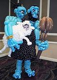 Edmonton balloon art ogre costume