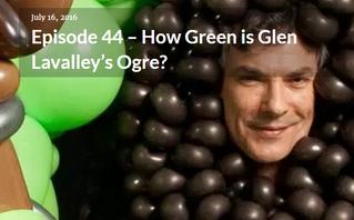 The Jam Room Podcast, Episode 44 – How Green is Glen Lavalley's Ogre?