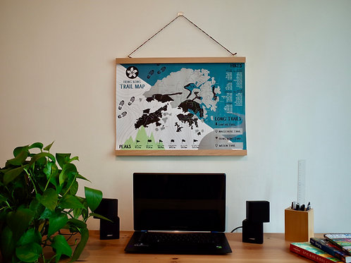Handmade Frame (map not included)