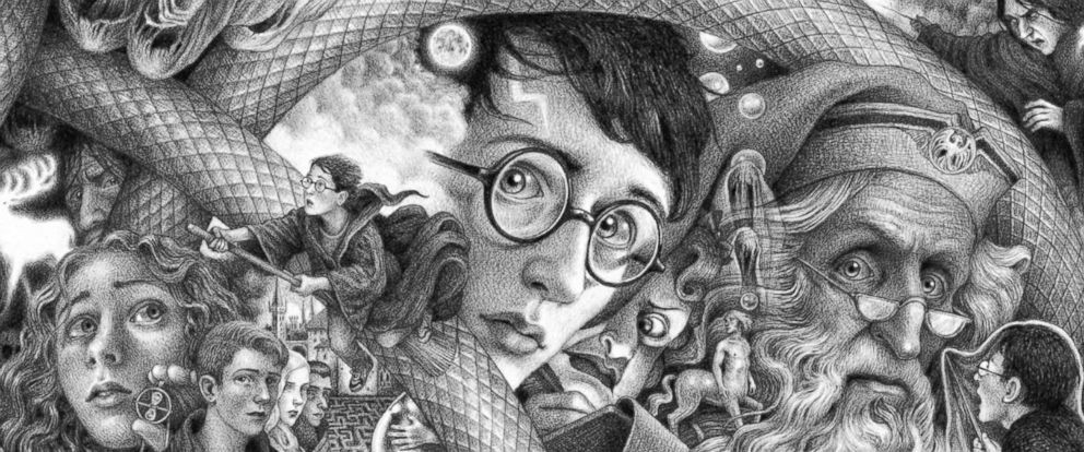 The new cover art for the series created by artist Brian Selznick. - Brian Selznick (c) 2018 by Scholastic Inc.