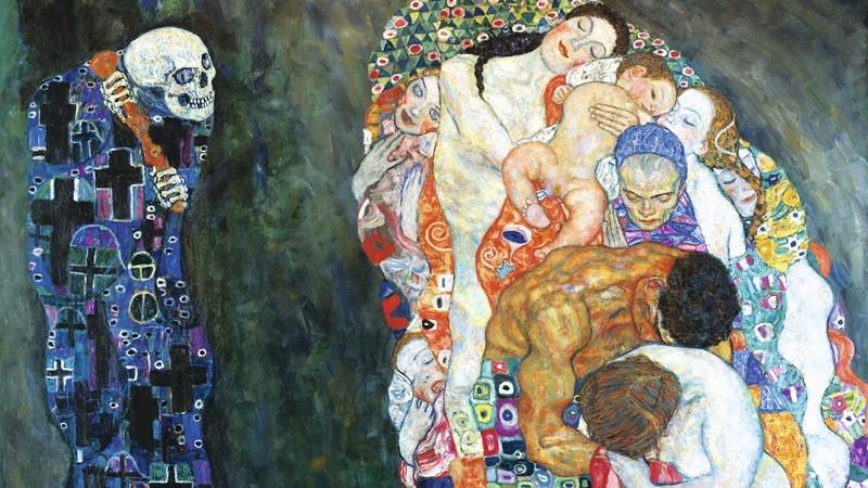 Gustav Klimt, Death and Life, 1910/15 © Leopold Museum, Vienna,