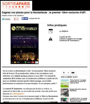 SORTIR A PARIS.COM