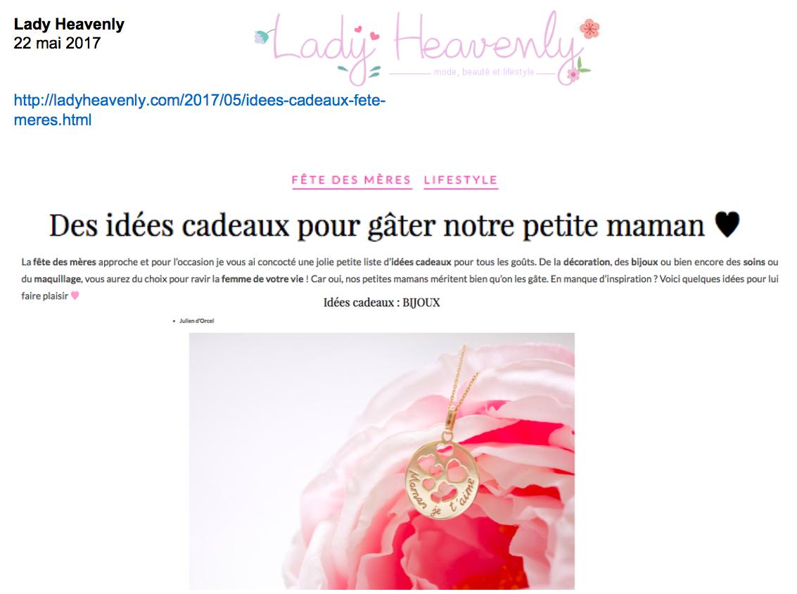 Blog Lady Heavenly