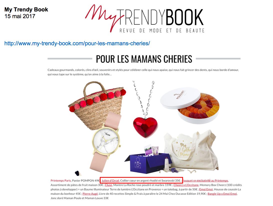 Blog My Trendy Book