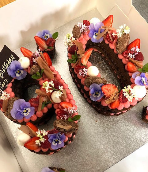 Raspberry and Choclate 90th Specialty _e