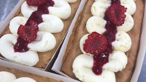 White Chocolate & Raspberry Loaf